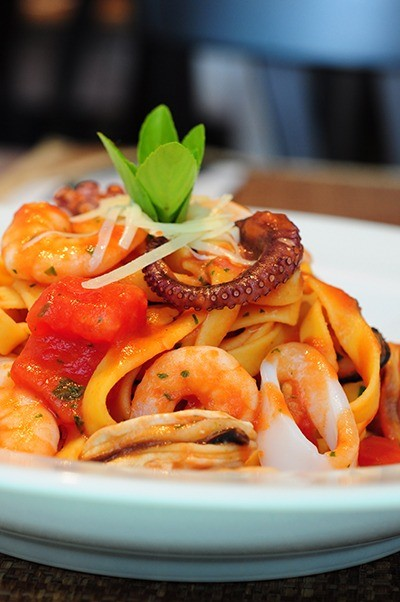 Cardápio conta com 18 opções de pratos (Crédito: Luciana Bohn)