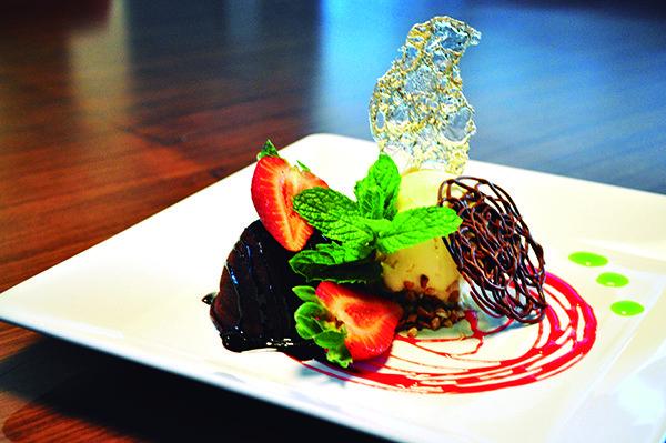 Mais Pastel serve sobremesas tanto no bufê ao meio dia e como também no menu à La Carte (Crédito: Gabriel Petry/SDS)