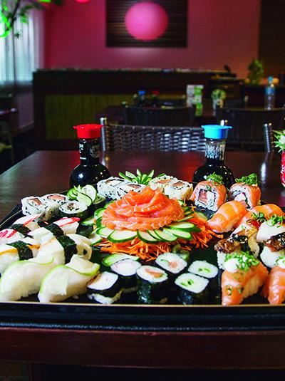 Matriz de Estância Velha conta com sushi, sashimi e pratos quentes nas noites de quarta à sábado (Crédito: Divulgação)