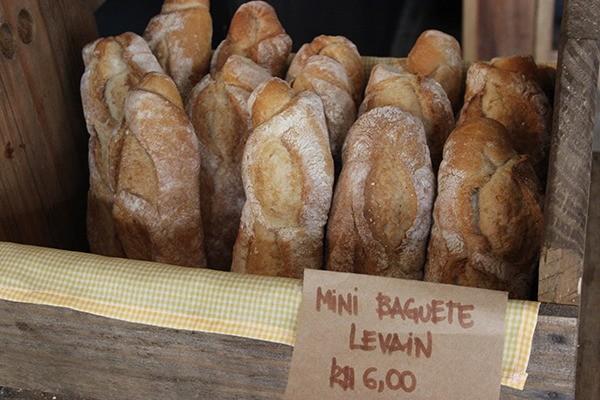 Restaurante conta com uma linha completa de pães, bolos e chás naturais (Crédito: Joana Dieter/SDS)