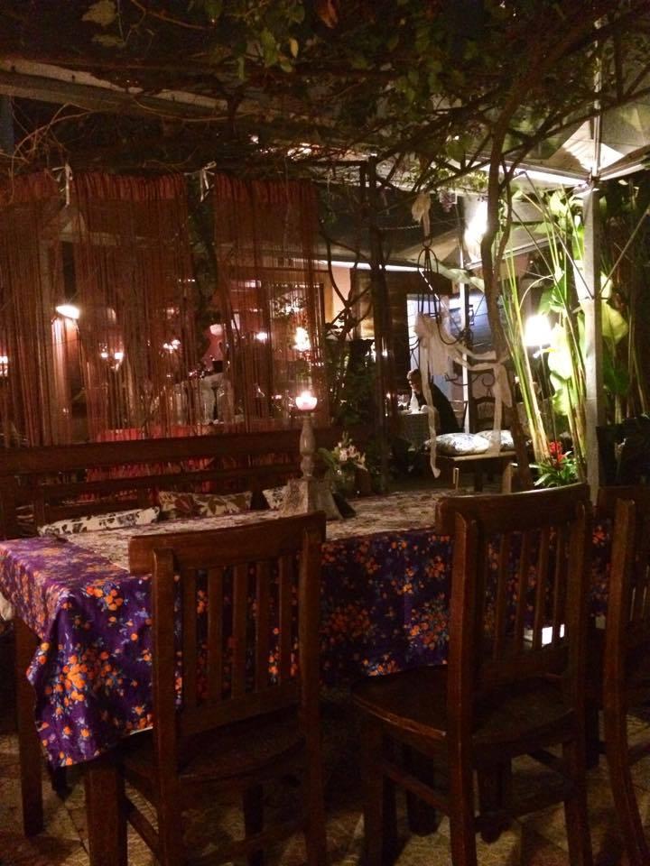 Decoração do Espaço Jardim do Lorita Restaurante. (Crédito: Sabina Fuhr/SDS)