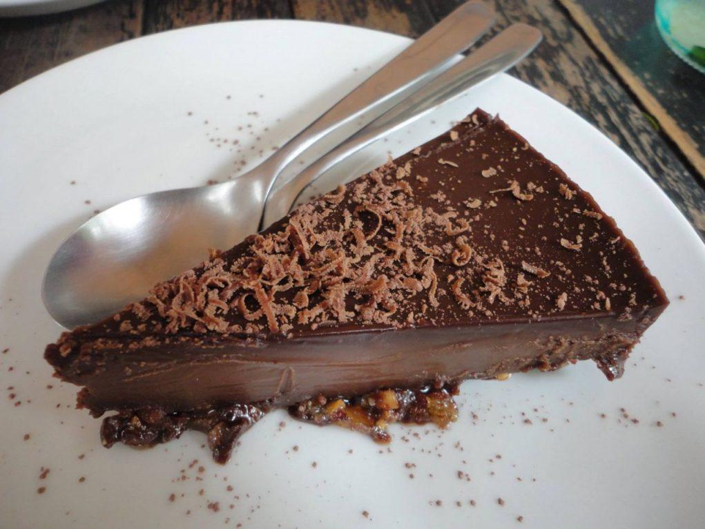 A melhor torta de chocolate (Foto: Gisele Santos)