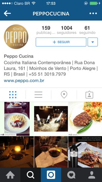 Siga o @peppocucina no Instagram e use a tag #peppocucina