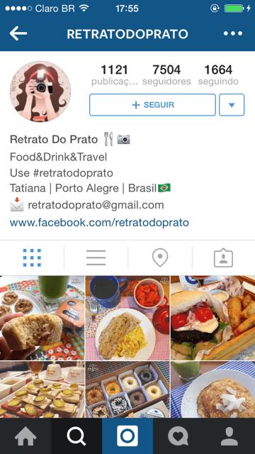 Siga @retratodoprato no Instagram e compartilhe suas fotos usando #retratodoprato