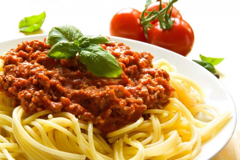 espaguete-à-bolonhesa