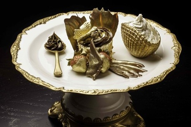 Cupcake-Ouro