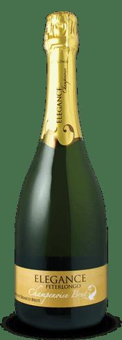 O Champanhe Elegance Brut foi destaques da harmonização, servido com codorna desossada em cama de polenta com provolone
