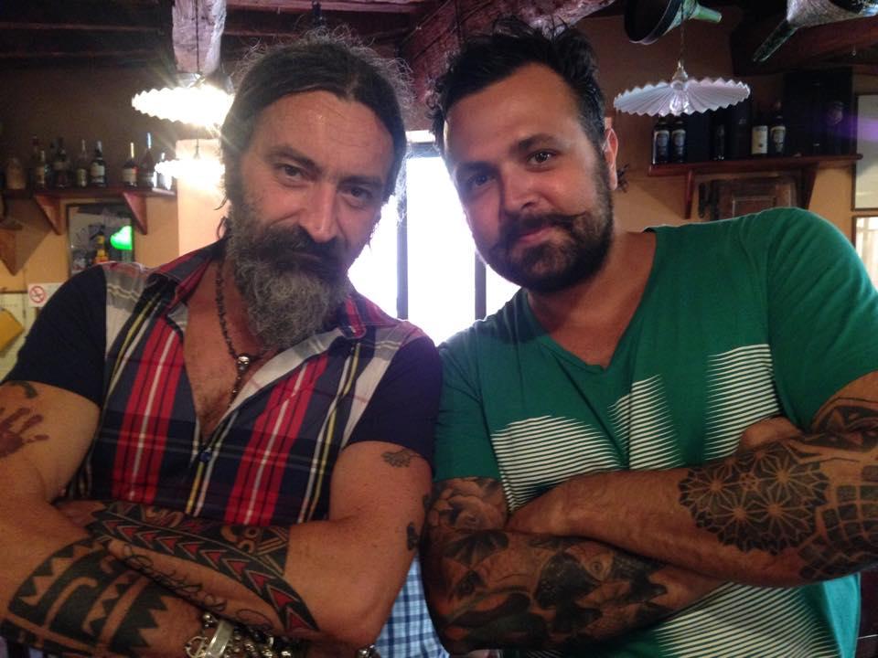 Encontro com o irreverente chefe Ubaldo, do restaurante Trattoria da Ubaldo, em Lucca. (Foto: Divulgação)