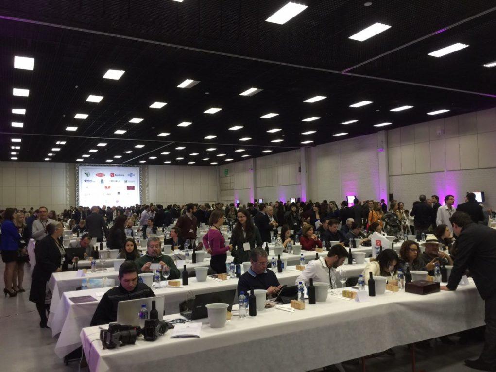 Evento reuniu 850 degustadores de vinhos de vários países. Foto: Igor Amaral