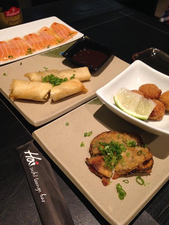 Os pratos quentes também fazem parte do bufê. (Foto: Morgana Dias de Sá)