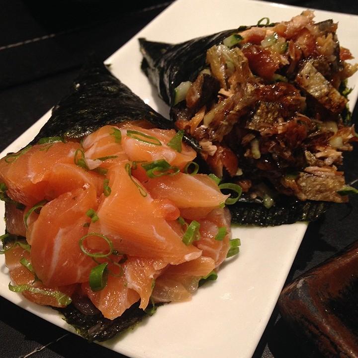 Temaki shake e skin são duas das quase 20 opções de sabores. (Foto: Morgana Dias de Sá).
