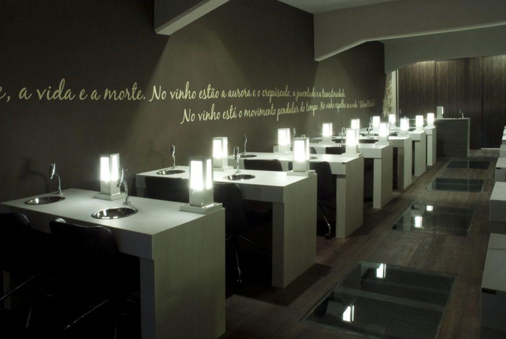 Sala de degustação é uma das mais modernas do estado (Foto: Igor Amaral)