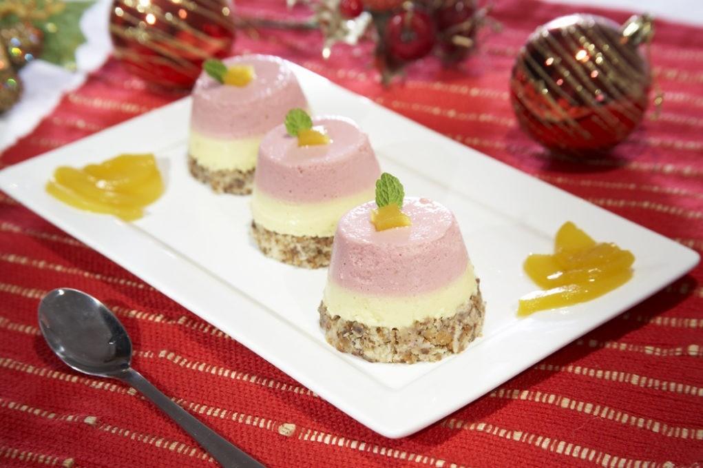 Mini bolo gelado