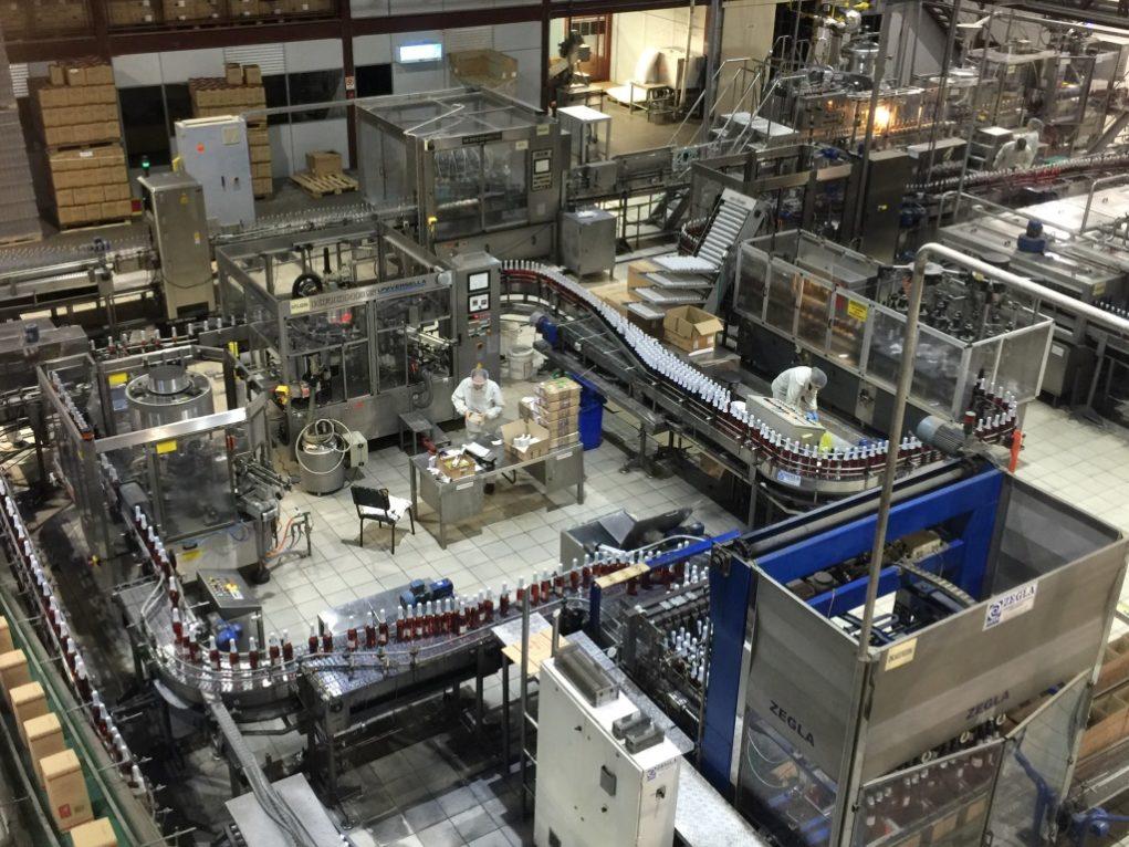 Empresa produz mais 9 milhões de derivados da bebida por ano. Foto: Igor Amaral