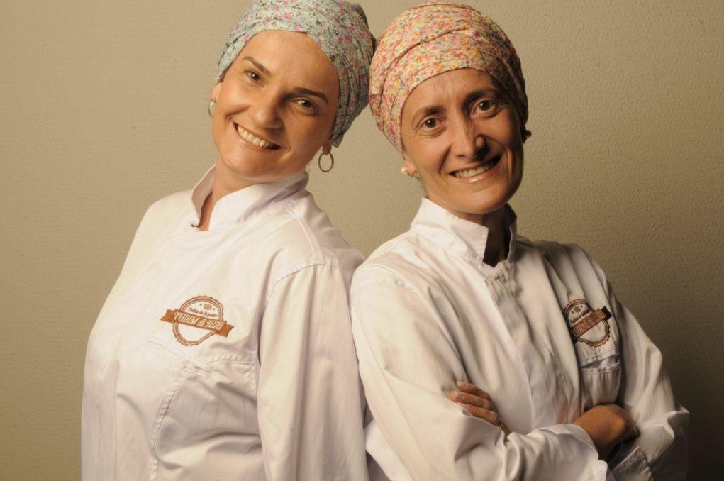Primas e pioneiras: Zuleica e Fernanda Corrêa.