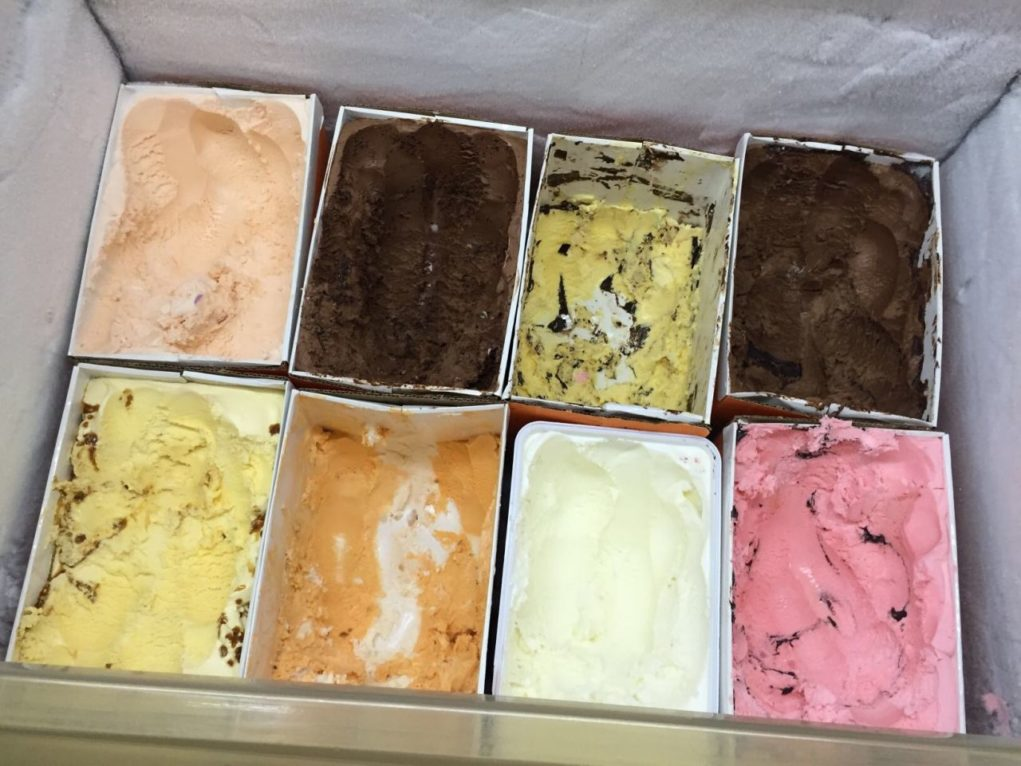 O bufê oferece mais de 20 sabores de sorvete artesanal. Foto: Sabir Fuhr