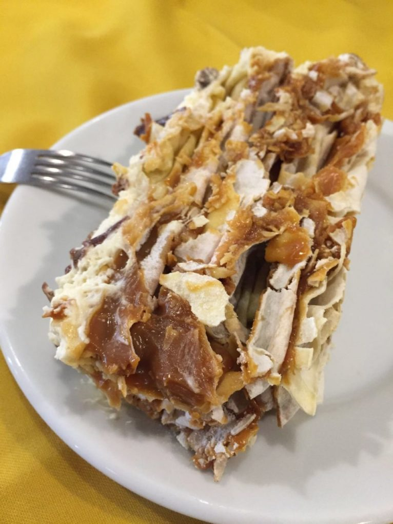 Torta de Alfajor. Foto: Sabina Fuhr