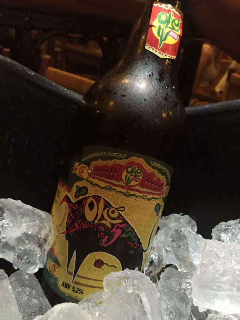 Olé Mexicano ainda oferece uma cerveja exclusiva. Foto: Sabina Fuhr