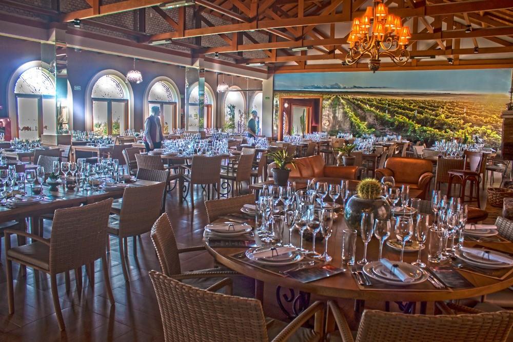 Atividade é realizada na sede da vinícola em Dom Pedrito. Crédito: Divulgação