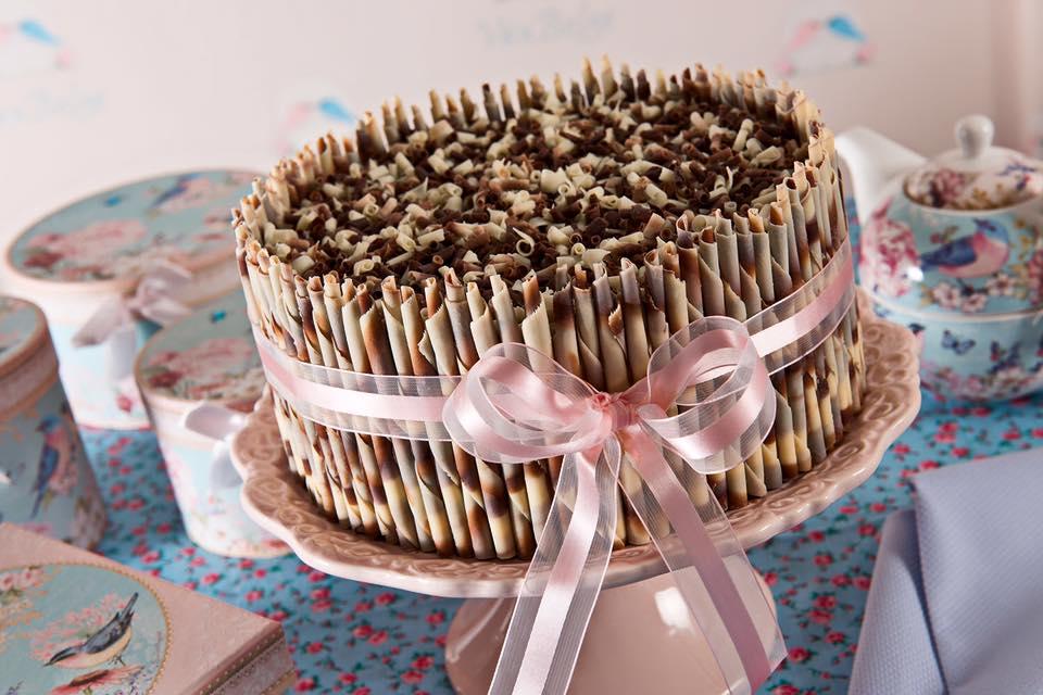 Torta com palito belga. Um luxo em forma de doce. Foto: João Ricardo