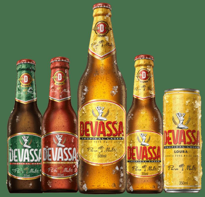 Além de novo sabor, a linha Devassa recebeu novos rótulos