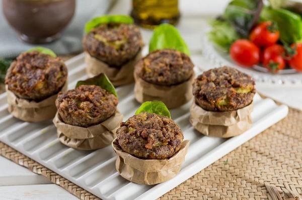 muffin-de-carne-moída