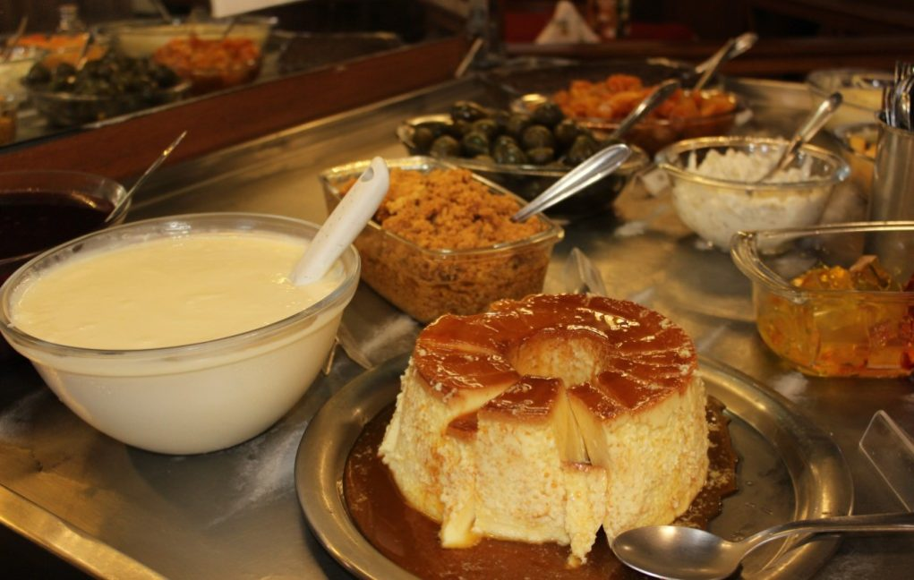 O buffet de sobremesa também é bem farto. Foto: Igor Amaral