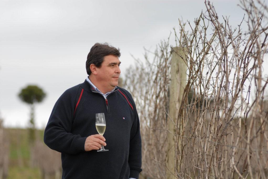 Carlos Abarzúa, enólogo e diretor geral da Vinícola Geisse, será um dos ministrantes do curso. Crédito: Divulgação