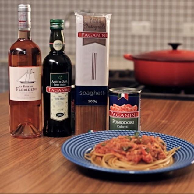 Spaguetti Integral é o primeiro vídeo do Ricette, o canal da Paganini Gastronomia no YouTube.