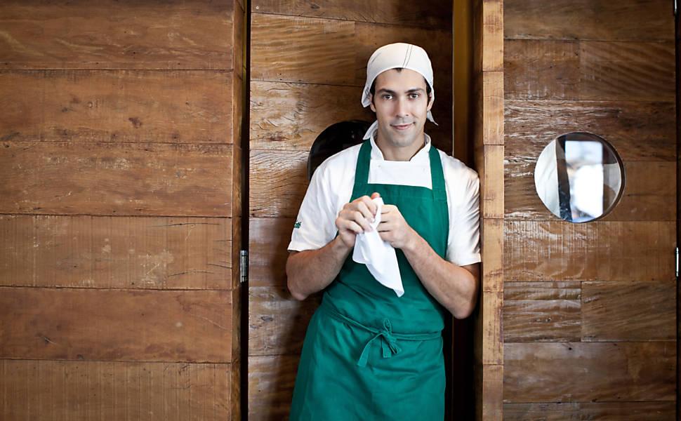 Chef Rodrigo Oliveira, do Mocotó. (Foto: Letícia Moreira)