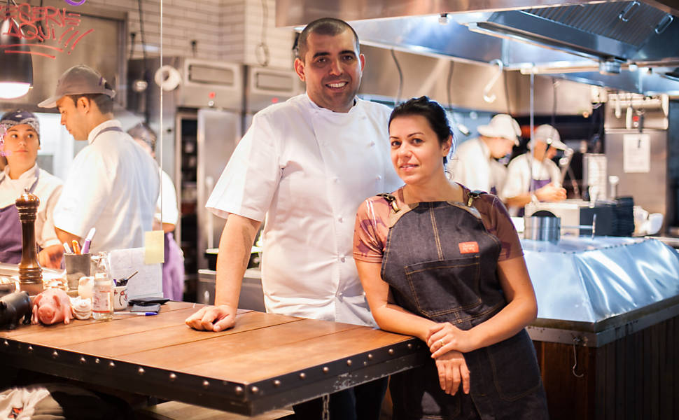 Chefs Jefferson e Janaina Rueda, A Casa do Porco. (Foto: Raquel Cunha)