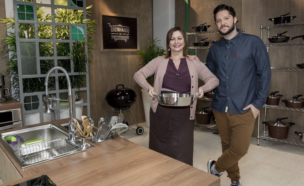 Chefs Carla Pernambuco e André Vasco comandam a atração. Crédito: Divulgação