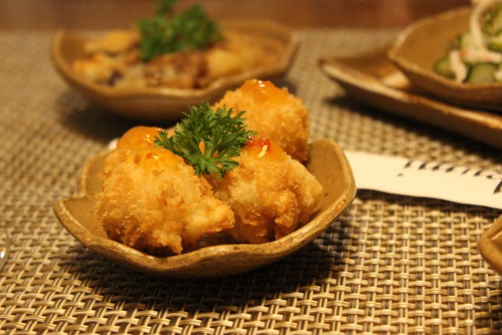 Esse bolinho de peixe é uma tentação. Foto: Igor Amaral