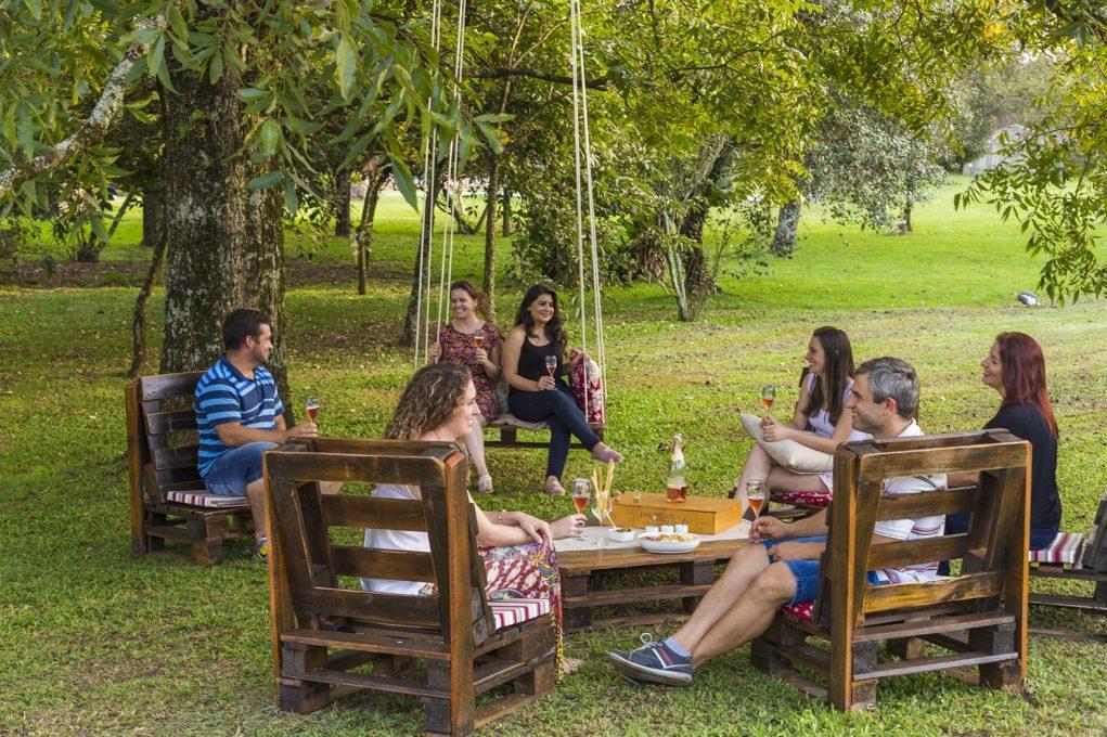 O novo atrativo do Ecomuseu da Cultura do Vinho Dal Pizzol é um convite para quem curte novas experiências enoturísticas em meio à natureza. Fotos: Eduardo Benini