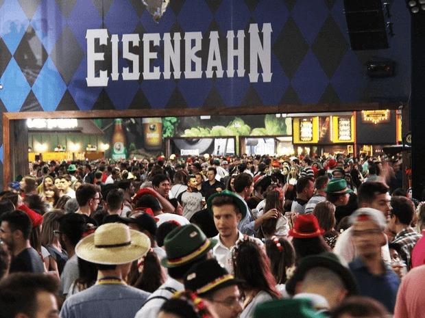 Mais de 500 mil pessoas devem passar pelos pavilhões da festa. Crédito: Divulgação
