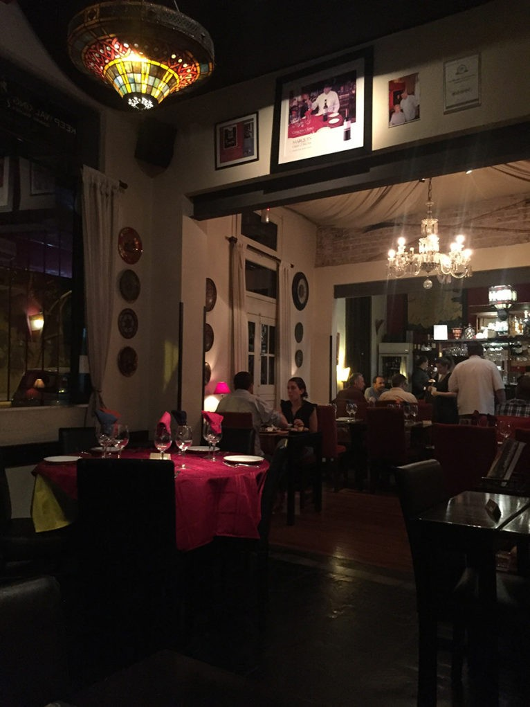 O autêntico Restaurant Tandory