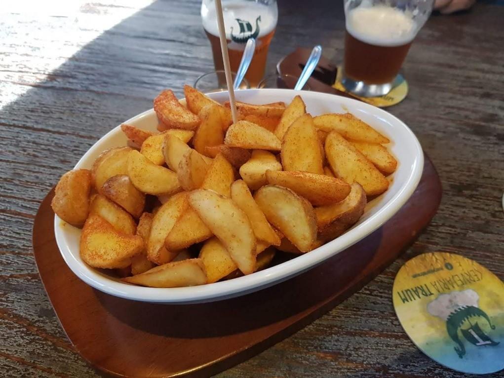 batatas rusticas com paprica