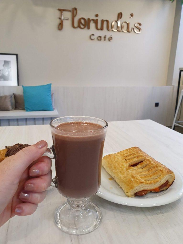 Florinda´s Café chocolate quente