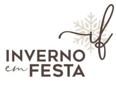 logotipo inverno em festa