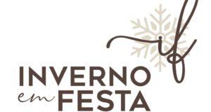 logotipo inverno em festa