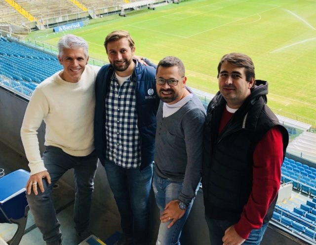 Nelson Ramalho, Flavio Luce, Adelar Kleinert e Rogerio Luce