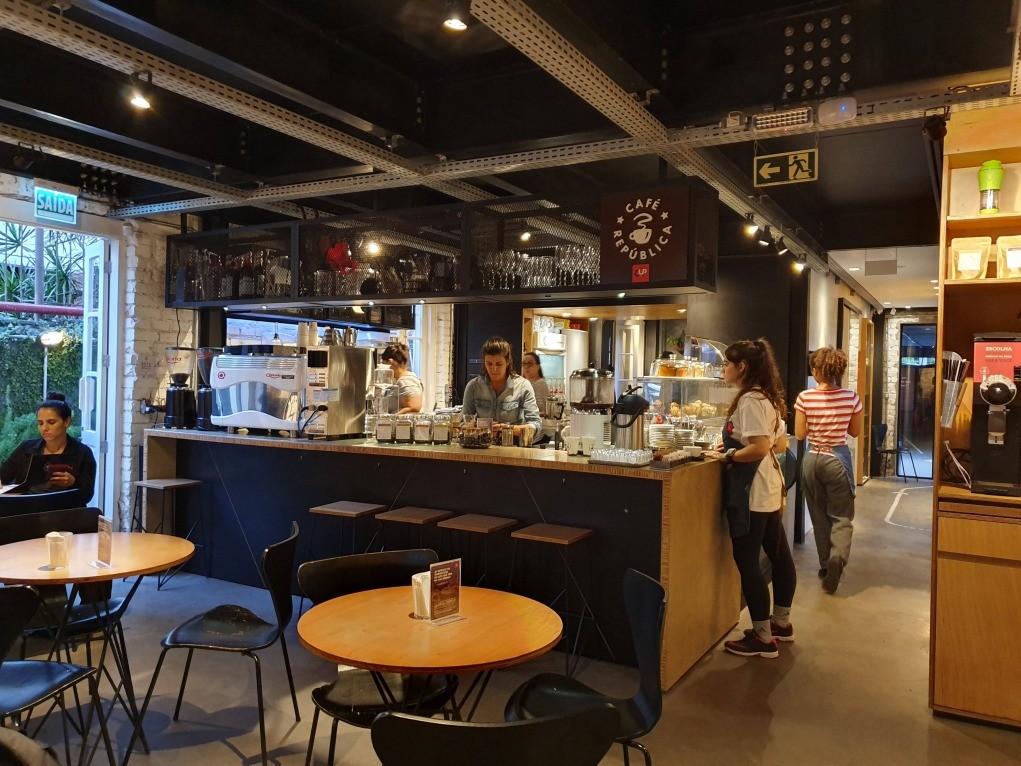salão café república cup