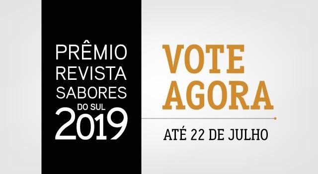 prêmio revista sabores do sul 2019