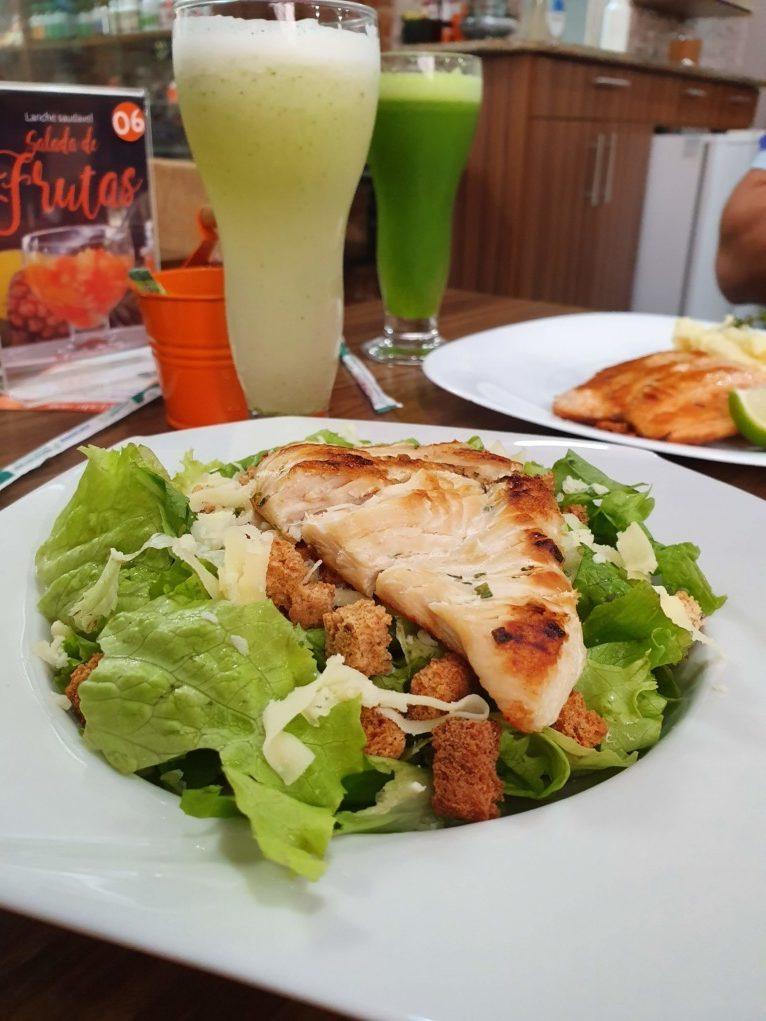 Salada Caesar com frango Nutri Gourmet