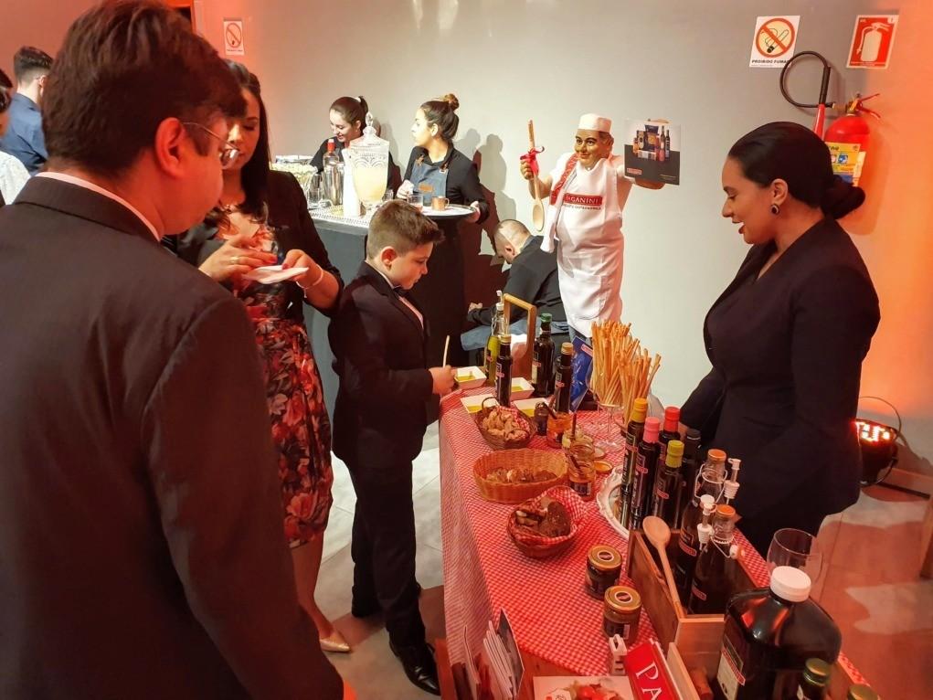 paganini no Prêmio revista sabores do sul 2019