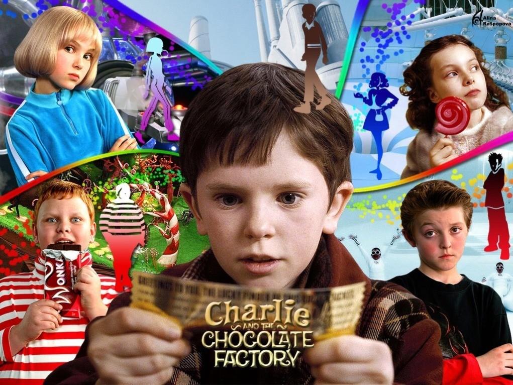 A Fantástica Fábrica de Chocolate netflix