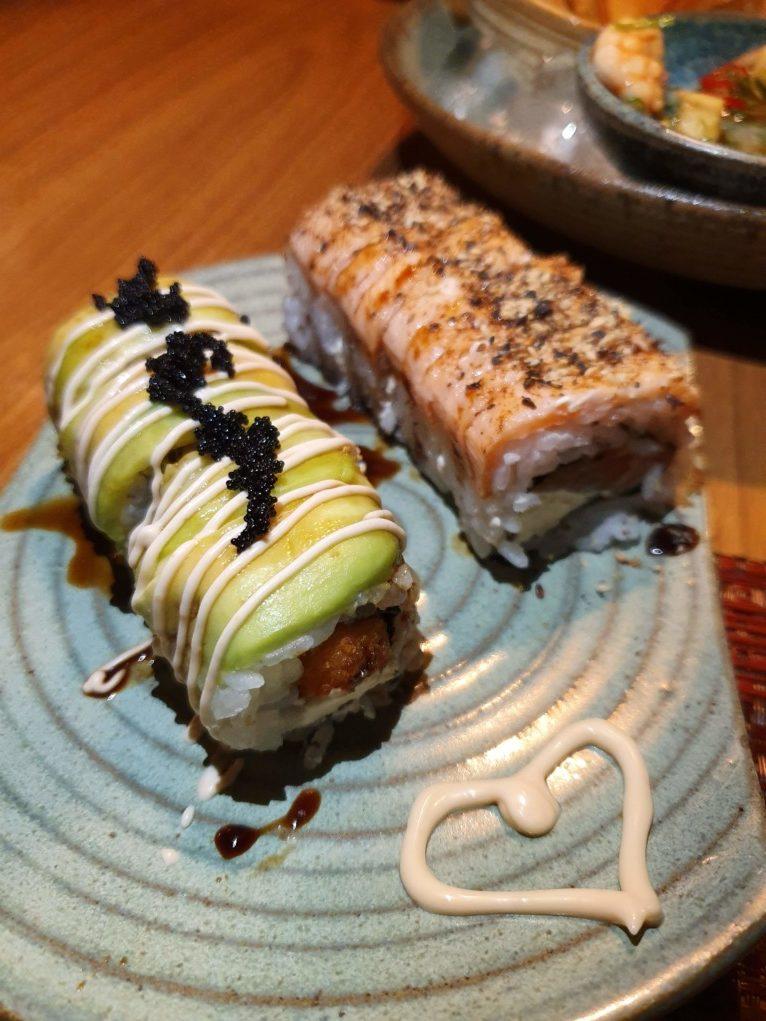 sushi a gueixa