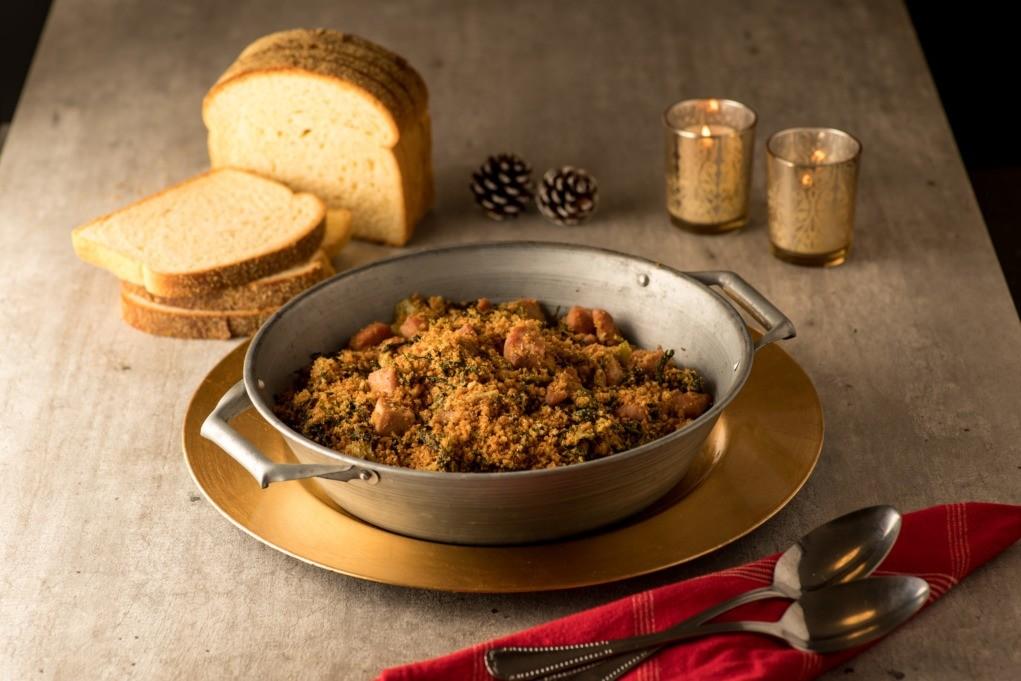 Farofa Crocante de Pão de Milho