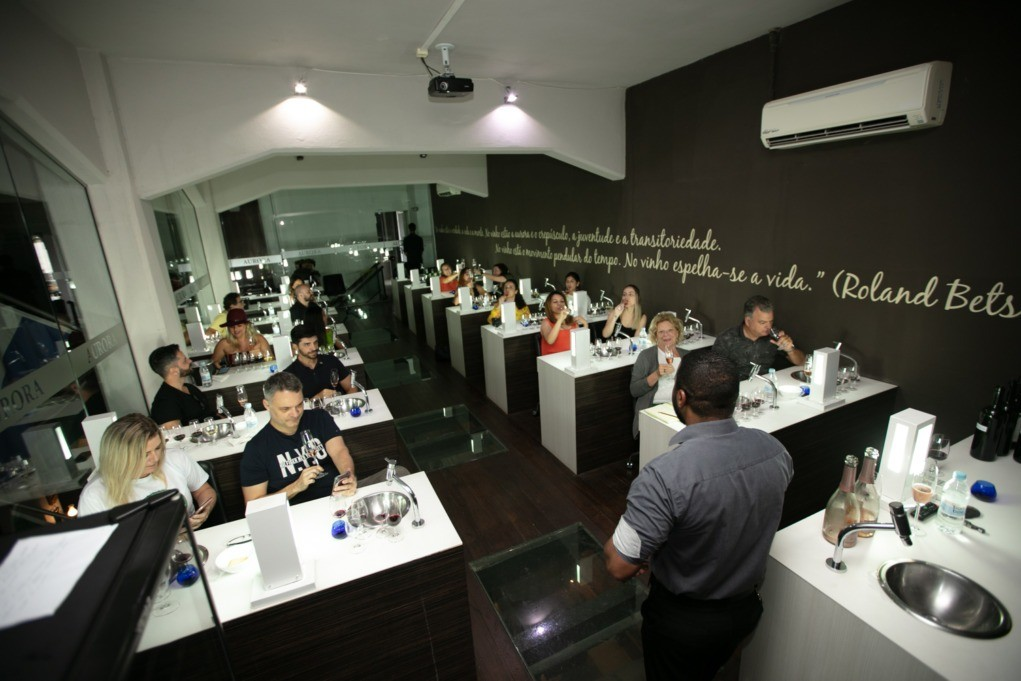 sala degustação vinicola aurora