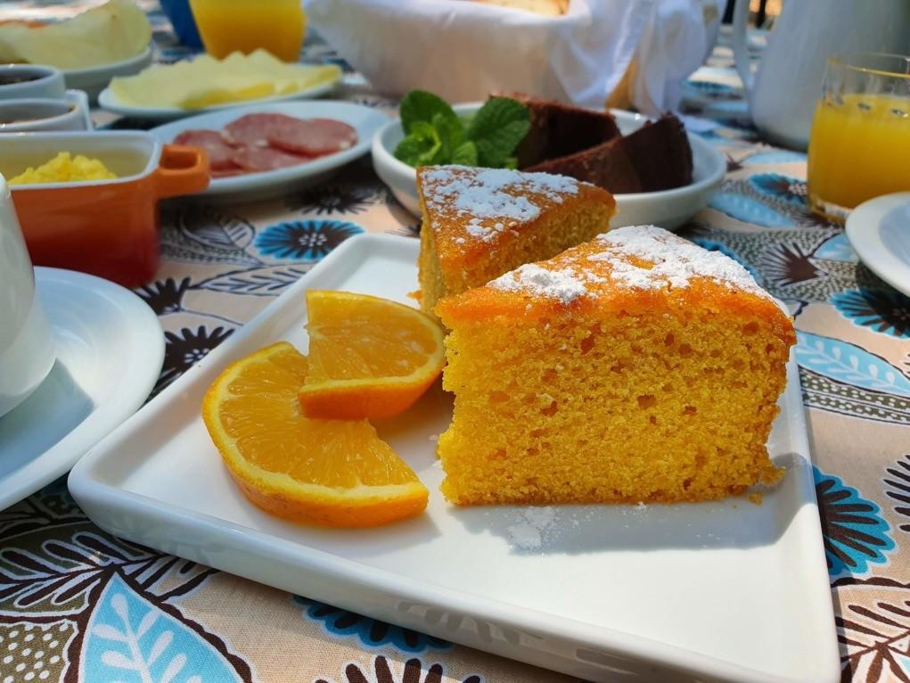 bolo de laranja super fácil